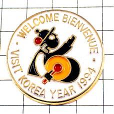 ピンズ・韓国を訪問しよう太鼓パーカッション民族音楽