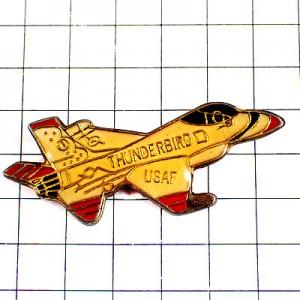ピンバッジ・サンダーバーズ米空軍アクロバット飛行チーム飛行機ユサフ戦闘機USAF