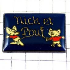 ピンズ・ネズミ鼠二匹ニックとプー子供服