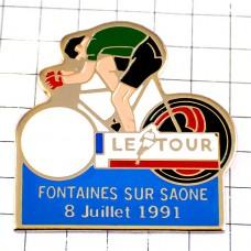 ピンズ・ツールドフランス自転車レース緑マイヨヴェール選手