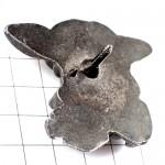 ピンズ・ハーレーダビッドソン二輪バイク豚ブタの顔ピューター製
