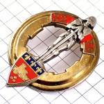 ・フランス軍ミリタリー第32砲兵連隊シュバリエ甲冑の騎士と紋章