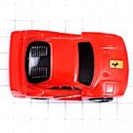 ピンズ・フェラーリ赤い車