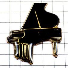 ピンズ・黒いグランドピアノ音楽ミュージック楽器