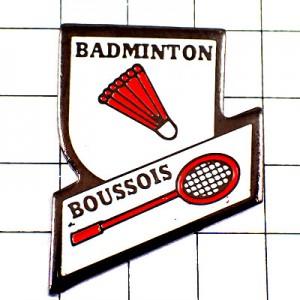 ピンバッジ・バドミントンの羽根フランスオープン大会