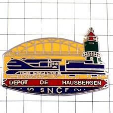 ピンズ・鉄道の駅トレイン青い車両SNCF国有鉄道