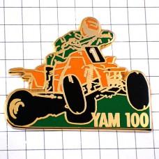 ピンズ・ヤマハのカート車レースYAM100