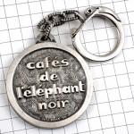 キーホルダー・カフェドレレファン象のコーヒー珈琲
