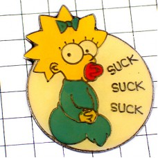 ピンズ・シンプソンズ一家のマギー赤ちゃんアニメ漫画