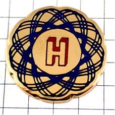 ピンズ・アルファベットH楕円