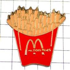 ピンバッジ・マックフライポテトMマクドナルド赤い袋
