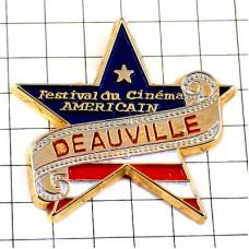 ピンズ・フランス海岸ドービルのアメリカ映画祭スター星条旗/USAフィルム星