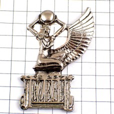 ピンズ・イゼベル古代イスラエル王妃シルバー銀色