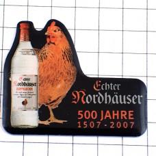 ピンズ・ニワトリ雌鶏ノルトハウゼン酒瓶/500周年ドイツ語