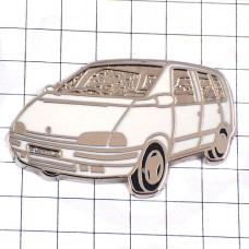 ピンズ・ルノーエスパス白い車
