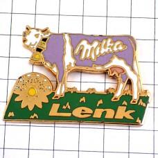 ピンズ・ミルカチョコの牛スイス牧草