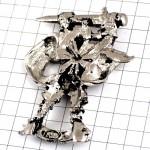 ピンズ・ヴィラン銀色のアンチヒーロー敵ピューター製
