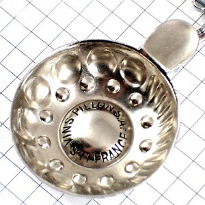 キーホルダー・葡萄酒ワインのテイスティング器シルバー銀色