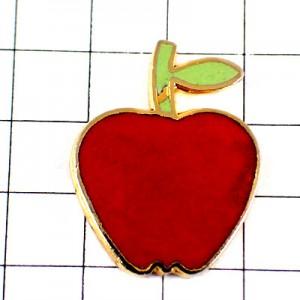 ピンバッジ・真っ赤なりんご林檎