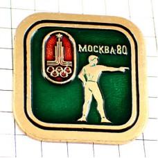 ブローチ・モスクワオリンピック1980年ソ連時代ロシア五輪ビンテージ中古品