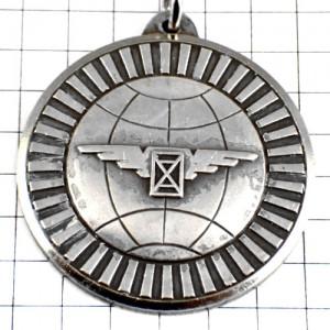 キーホルダー・ロンジン時計シルバー銀色