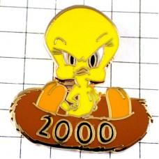 ピンバッジ・トウィーティー黄色い鳥ワーナー漫画2000
