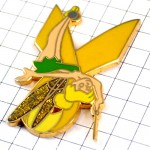 ピンズ・ティンカーベル黄色いリボン脱原発ピーターパン妖精ディズニー