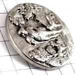 ピンズ・猟犬ハンティング狩猟シルバー銀色