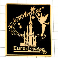 ピンズ・ユーロディズニーのお城とティンカーベル妖精