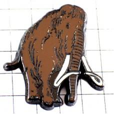 ピンバッジ・マンモス象ゾウ動物