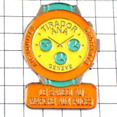 ピンバッジ・ティラドール腕時計クロノ土曜日の蚤の市