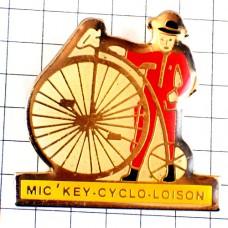 ピンバッジ・アンティークの自転車