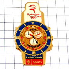 ピンバッジ・腕時計シドニーオリンピック五輪オーストラリア夏季ビンテージ中古品