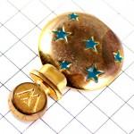 ピンバッジ・ヴェイル香水壜スター青い星WORTH PARIS RENE-LALIQUE