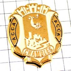 ピンバッジ・シャンブル白い紋章