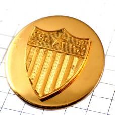 ピンバッジ・金色アメリカ星条旗柄/USA国旗の紋章