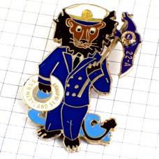 ピンバッジ・ライオンの船長ライオンズクラブL制服制帽