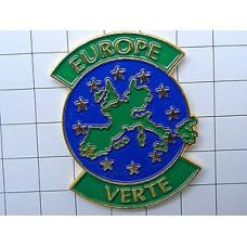 ピンズ・緑色のヨーロッパユーロ