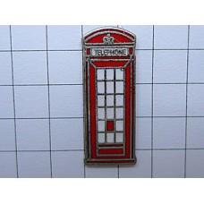 ピンバッジ・ロンドン赤い電話ボックスイギリス