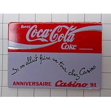 ピンズ・コカコーラとカジノ