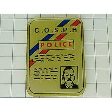 ピンズ・警察のIDカード型
