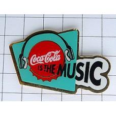 ピンズ・コカコーラは音楽ヘッドフォン
