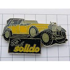 ピンズ・ソリド黄色車プラモデル