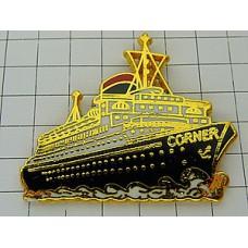 ピンバッジ・フェリー大型客船