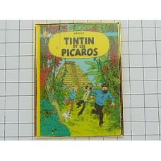 ピンズ・タンタン漫画本『タンタンとピカロたち』