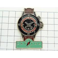 ピンズ・パリダカール車レース時計キャピトル