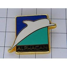 ピンズ・白いイルカ海豚