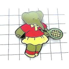ピンズ・ぞうのババール女の子テニス