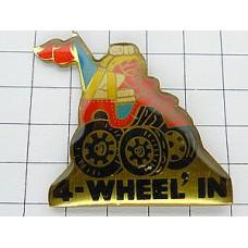 ピンズ・四輪駆動のカート車