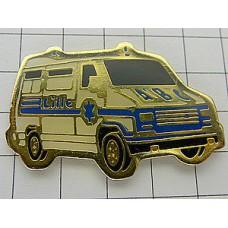 ピンズ・青いマークの救急車